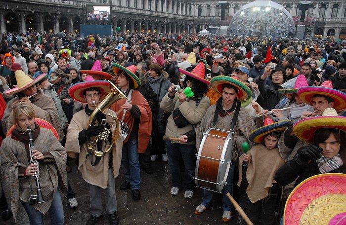 gruppo messicano carnevale di venezia 2008