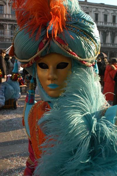 Arancione Celeste - Carnevale di Venezia