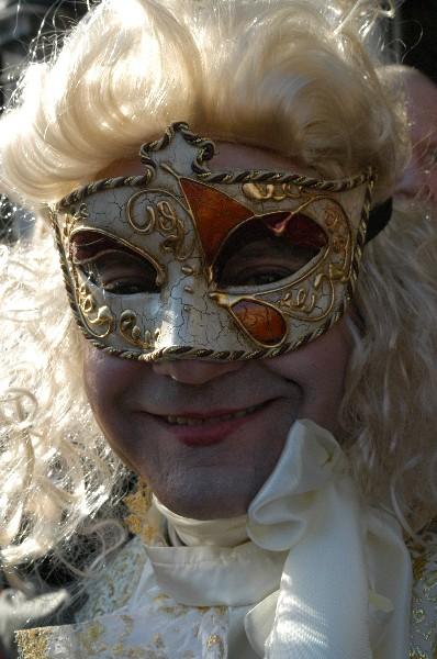 Cavaliere sorridente - Carnevale di Venezia