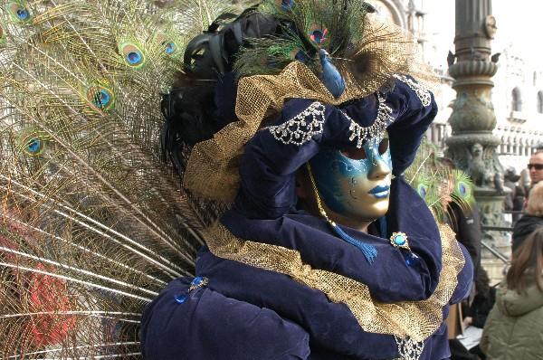 Come un pavone - Carnevale di Venezia