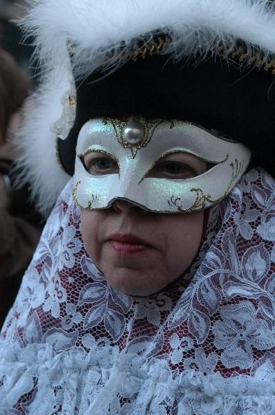 Con i merletti - Carnevale di Venezia>              </div></td>         </tr>         <tr>            <td><div align=