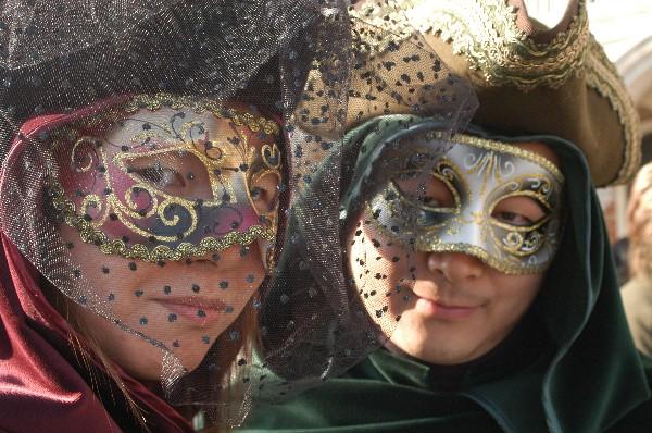 Coppia giapponese - Carnevale di Venezia