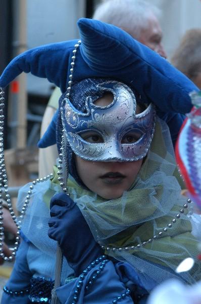 Damigella Blu - Carnevale di Venezia