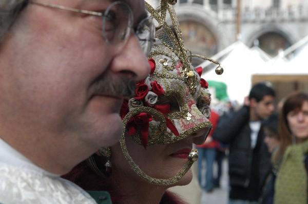 Di profilo - Carnevale di Venezia