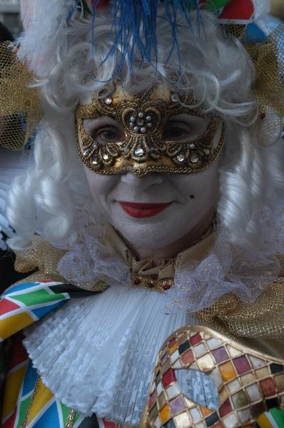 Donna Arlecchino - Carnevale di Venezia