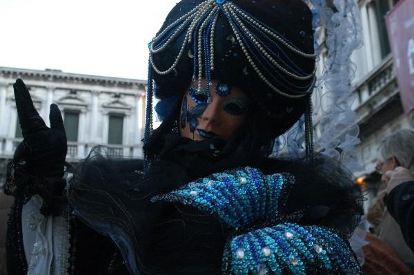 Farfalla Blu - Carnevale di Venezia