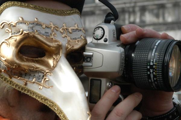 Fotografo - Carnevale di Venezia