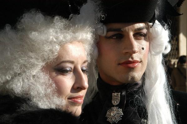 Giovane coppia - Carnevale di Venezia