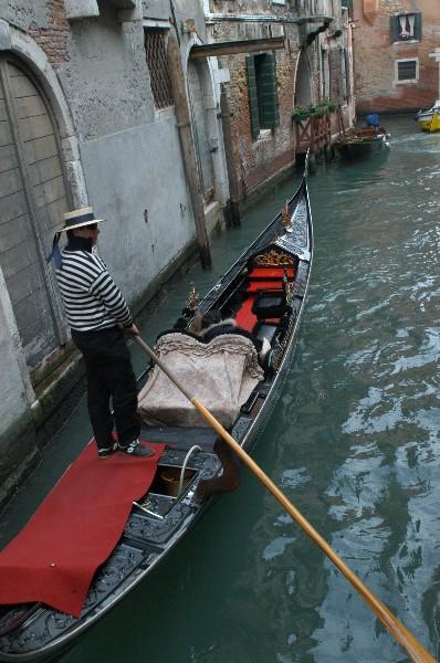 Gondola - Carnevale di Venezia