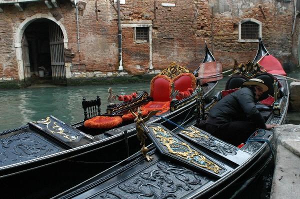 Gondole - Carnevale di Venezia
