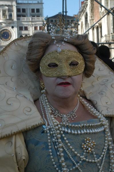 Nobile Medioevo donna - Carnevale di Venezia