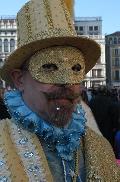 Nobile Medioevo uomo - Carnevale di Venezia