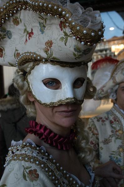Nobili del Medioevo donna - Carnevale di Venezia