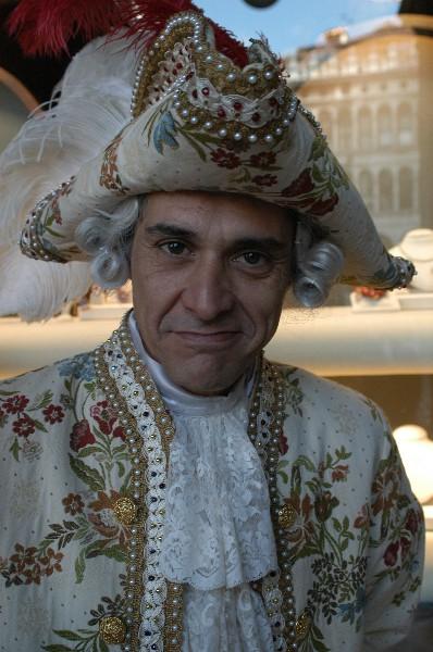 Nobili del Medioevo uomo - Carnevale di Venezia