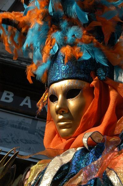 Piume colorate - Carnevale di Venezia