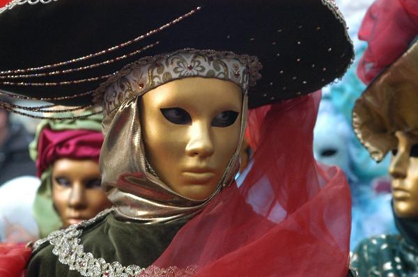 Possente sguardo - Carnevale di Venezia