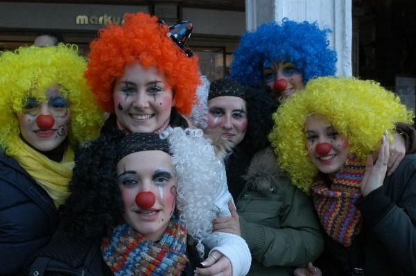 Sei Clown - Carnevale di Venezia