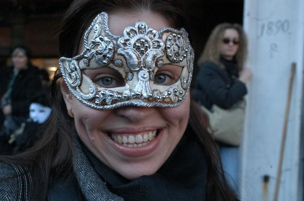 Sorriso - Carnevale di Venezia