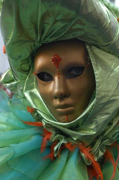 Terzo occhio arancione - Carnevale di Venezia