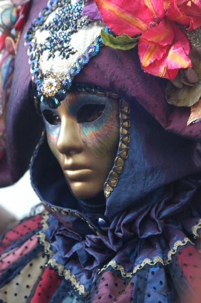 Tonalità viola - Carnevale di Venezia