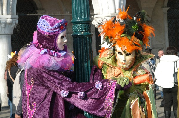 Verde Viola - Carnevale di Venezia