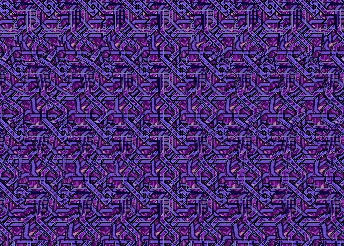 Globo stereogrammi for Quadri illusioni ottiche